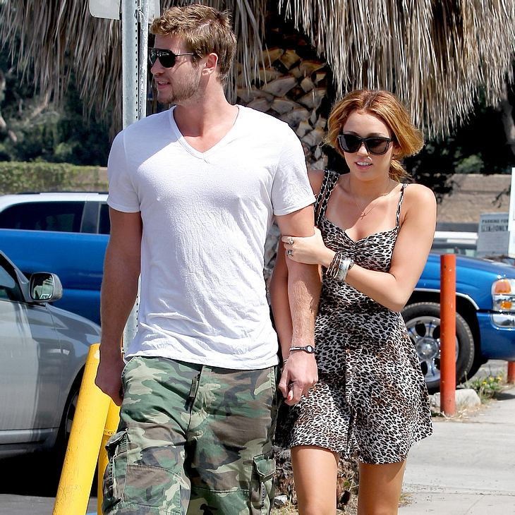 Miley Cyrus: Wilder Sex mit Liam Hemsworth