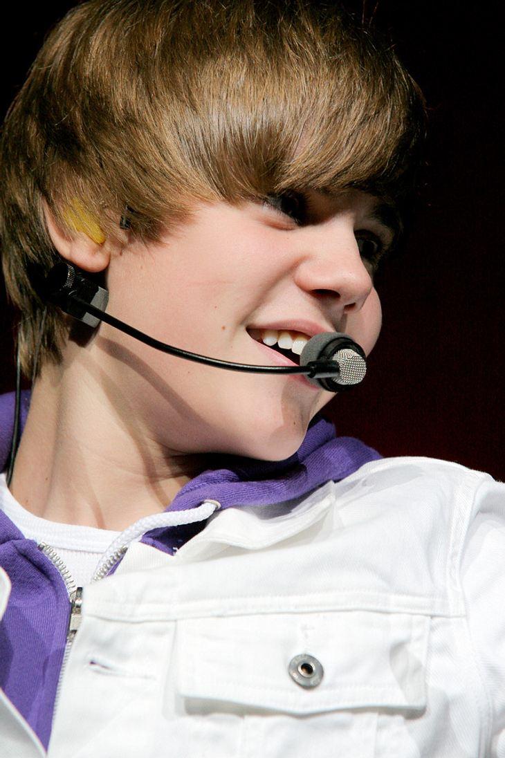 Justin Bieber als Puppe