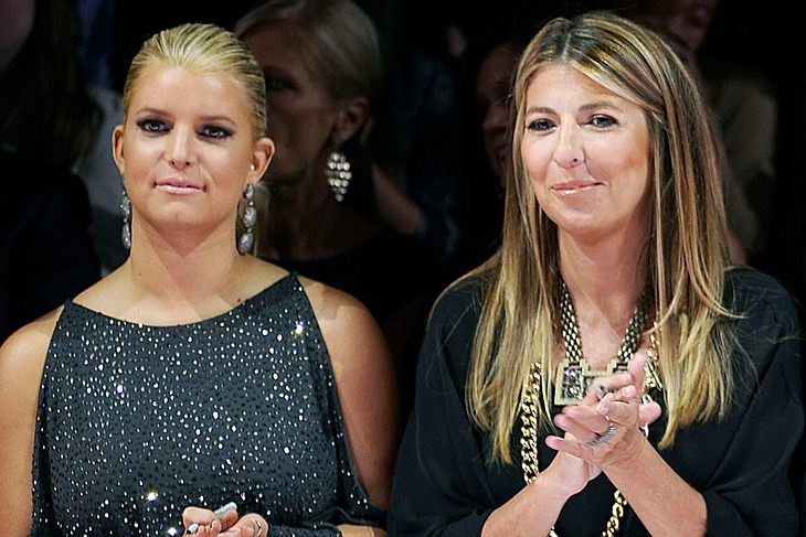 "Jessica Simpson als Gastjurorin in Klums ""Project Runway""-Finale"