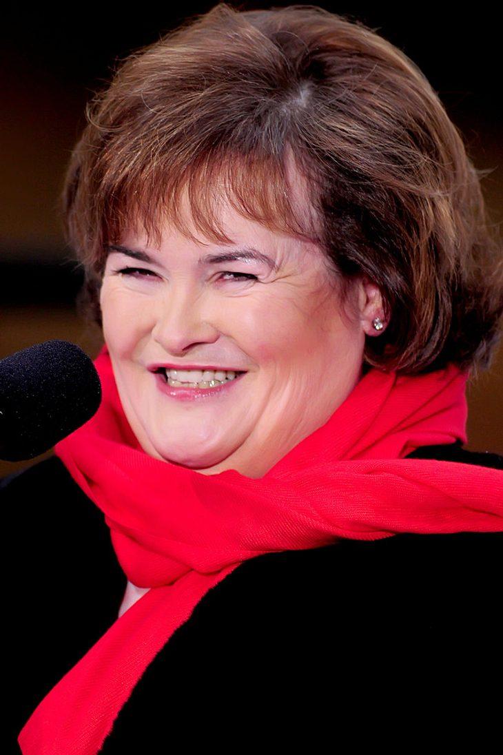Susan Boyle blamiert sich in US-Fernsehshow