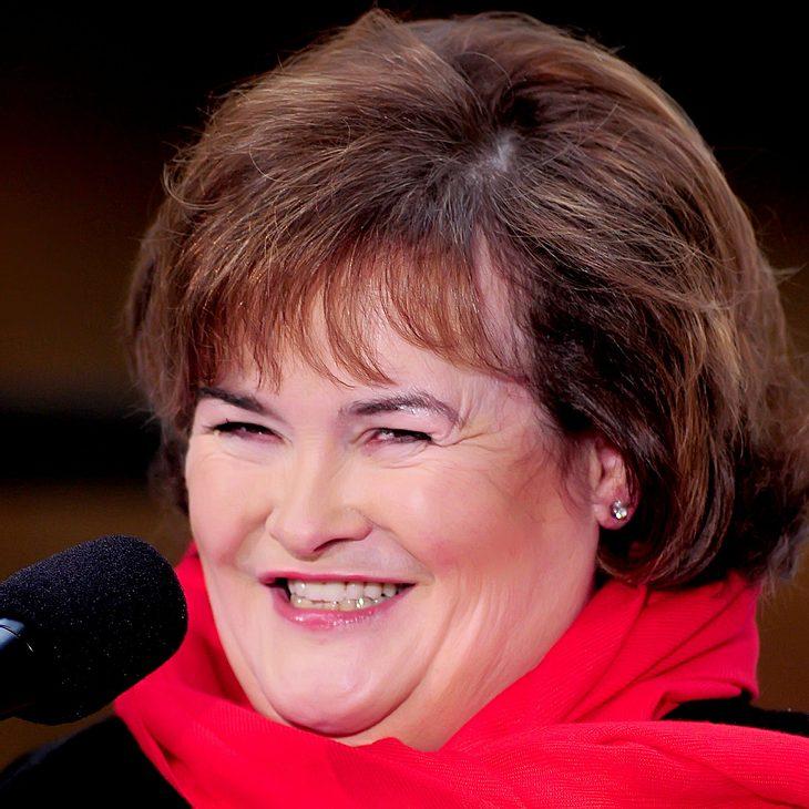 Susan Boyle: Studio ist ihr Rückzugsgebiet