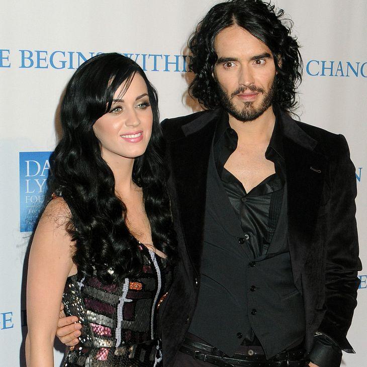 Katy Perry: Zu chaotisch für Russell Brand?