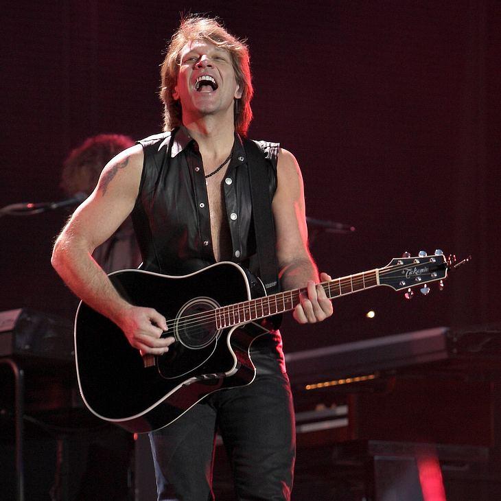 Jon Bon Jovi: Wembley ist ihm zu anstregend