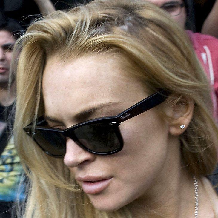 Lindsay Lohan verzichtet auf Einladung von Pitbull