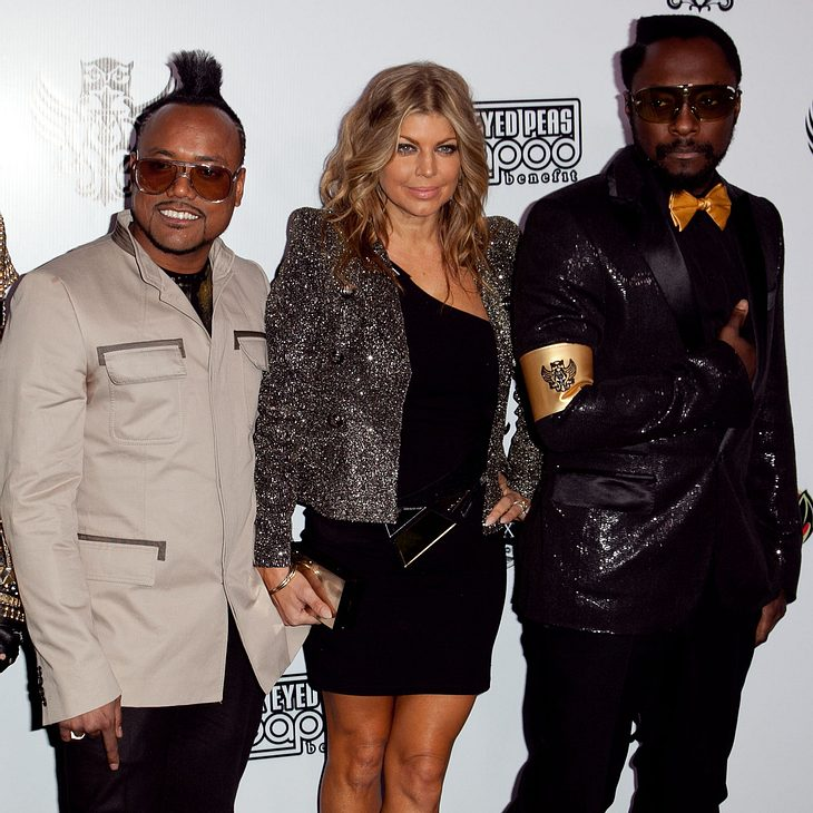 Black Eyed Peas planen riesiges Charity-Konzert