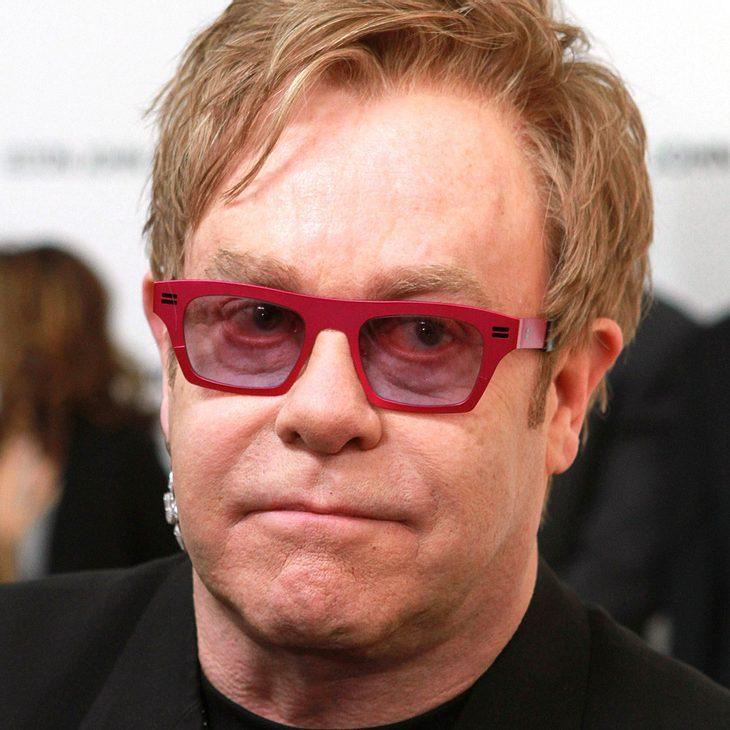 Elton John: Sorge um seinen Sohn