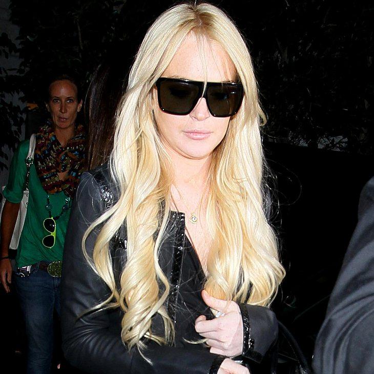 Lindsay Lohan muss sich für Rolle zusammenreißen