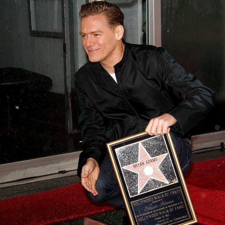 Bryan Adams bekommt Stern auf Hollywood Walk of Fame