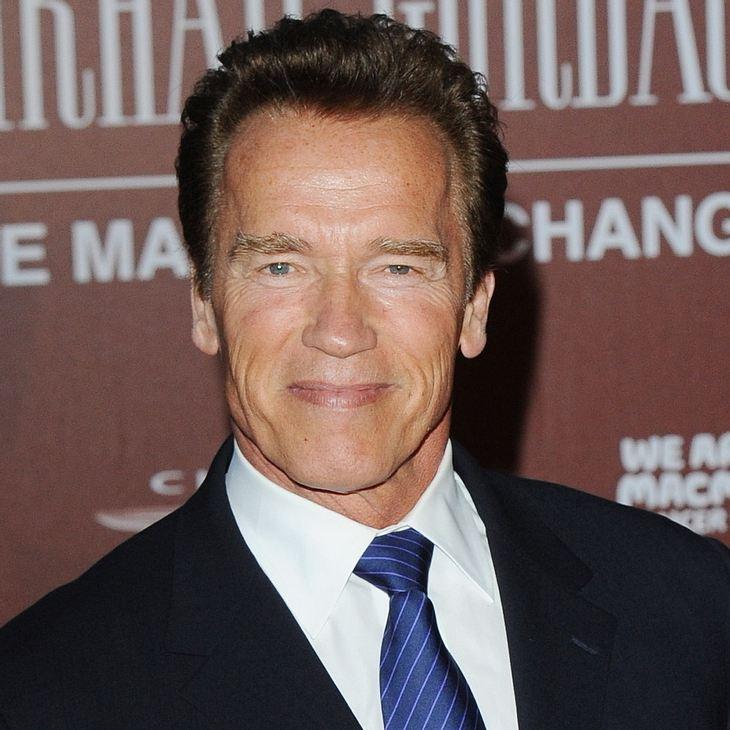 Arnold Schwarzenegger schreibt seine Memoiren
