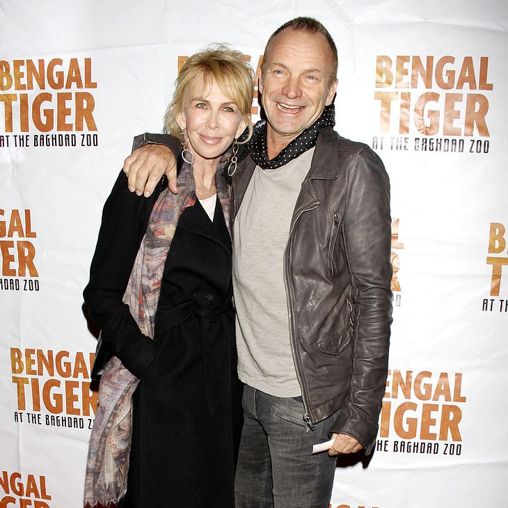 Sting & Trudie Styler machen Taschen aus Elefantenmist