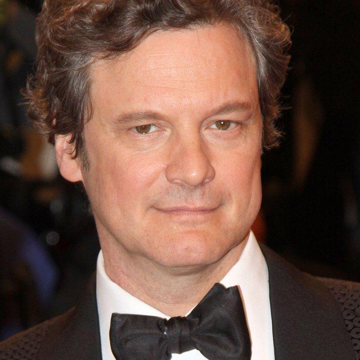 Colin Firth & Sienna Miller spenden Schuhe