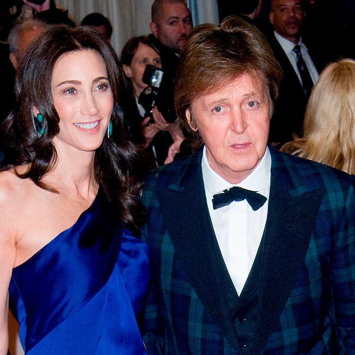 Paul McCartney & Nancy Shevell: Hochzeit am Wochenende