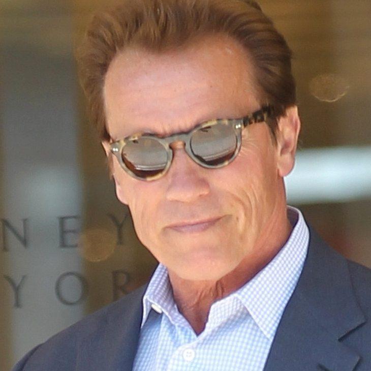 Arnold Schwarzenegger: Vom Sohn beschützt