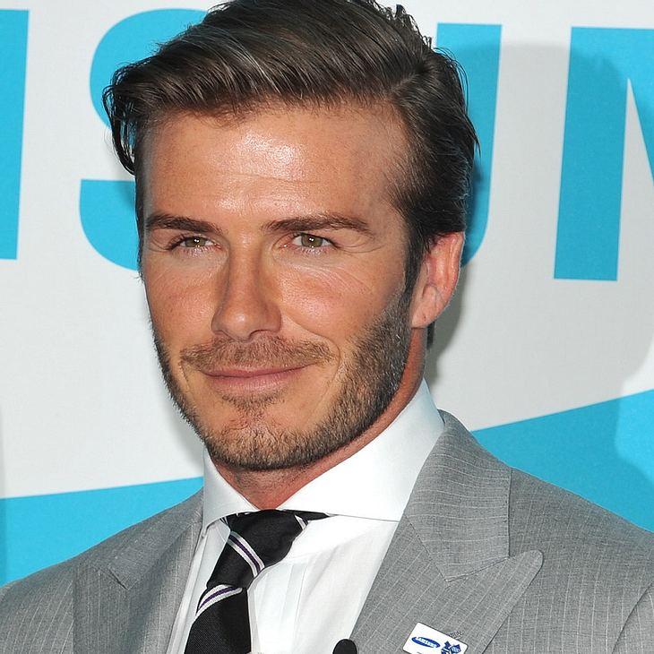 David Beckham: Blindes Fußballspiel