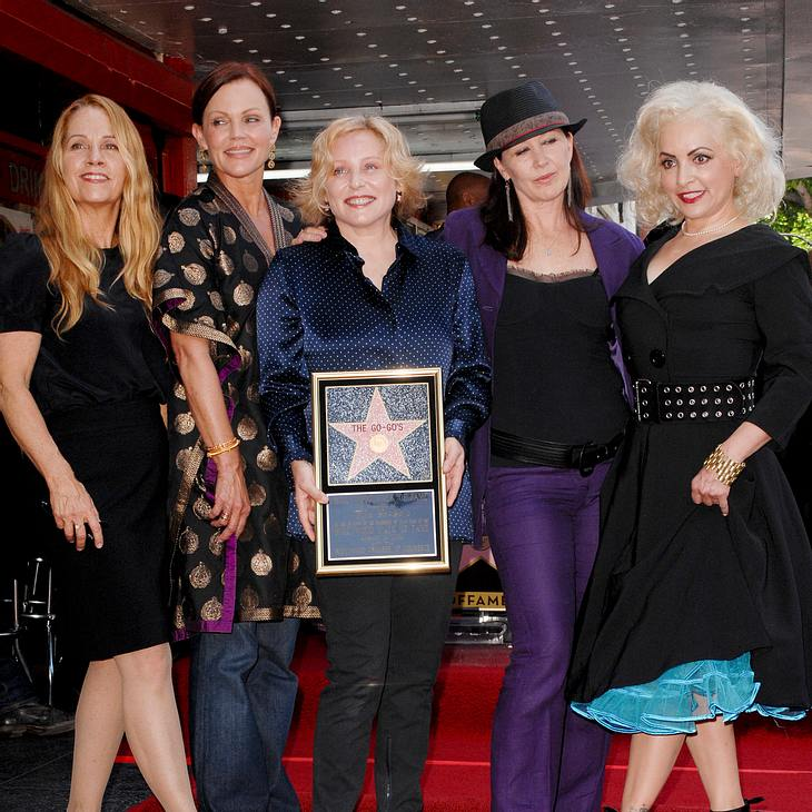 The Go-Go's: Stern auf Walk of Fame