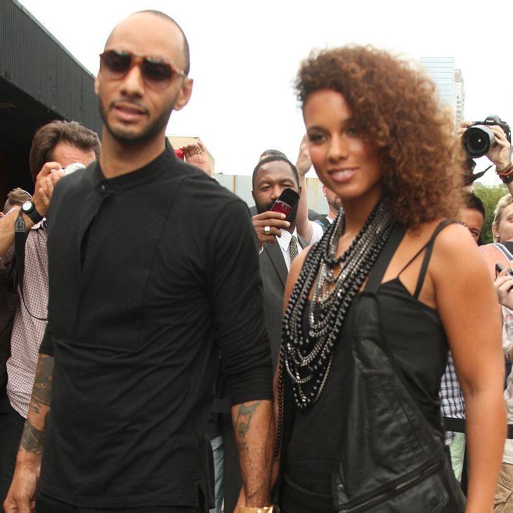 Alicia Keys: Überraschungsparty auf Rollschuhen