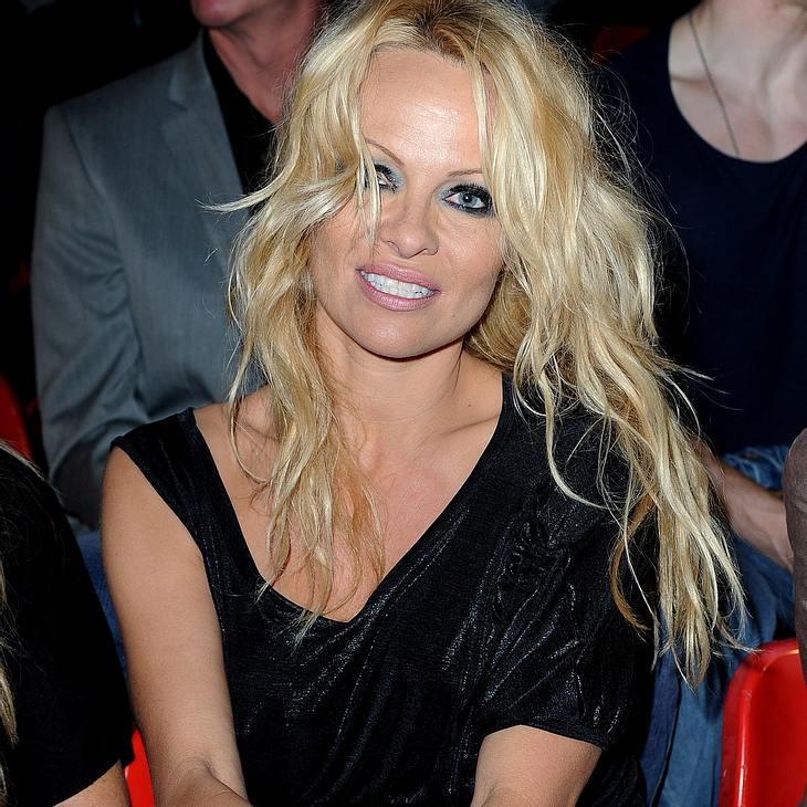 Pamela Anderson feiert Einfuhrverbot