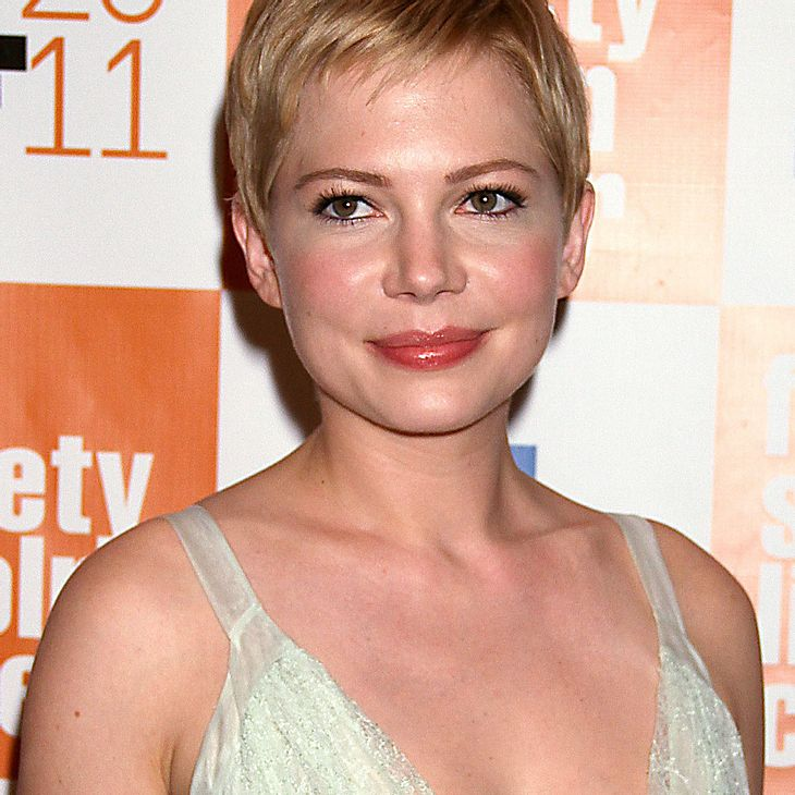 Michelle Williams: Kurze Haare für Heath Ledger