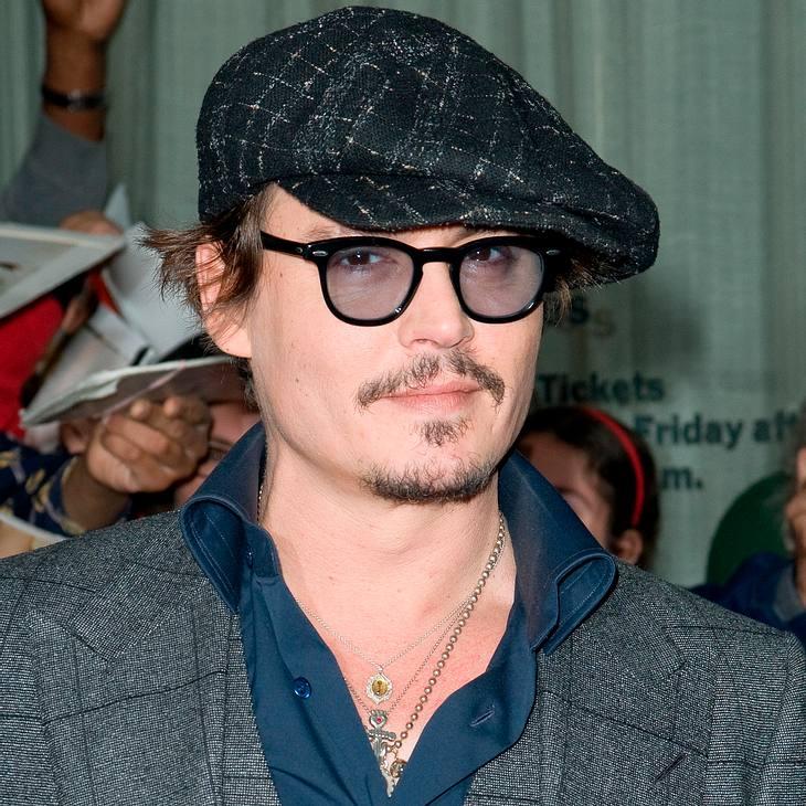 Johnny Depp: Live-Auftritt mit Marilyn Manson