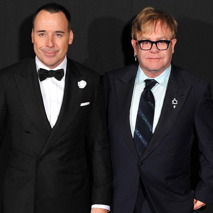 Boris Becker: Gast bei Elton Johns Wohltätigkeitsball