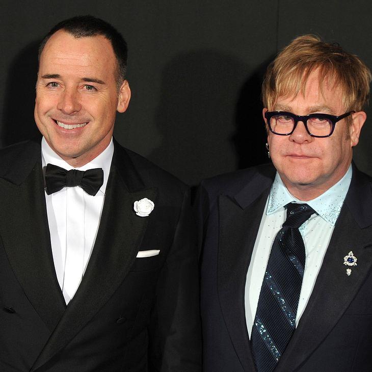 Elton John: Angst um seinen Sohn