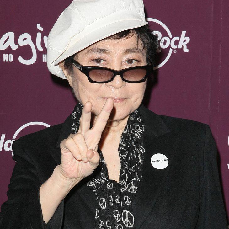 Yoko Ono: Kampagne gegen Hunger in der Welt