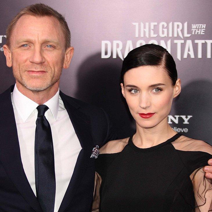 Rooney Mara & Daniel Craig: Keine Freunde geworden
