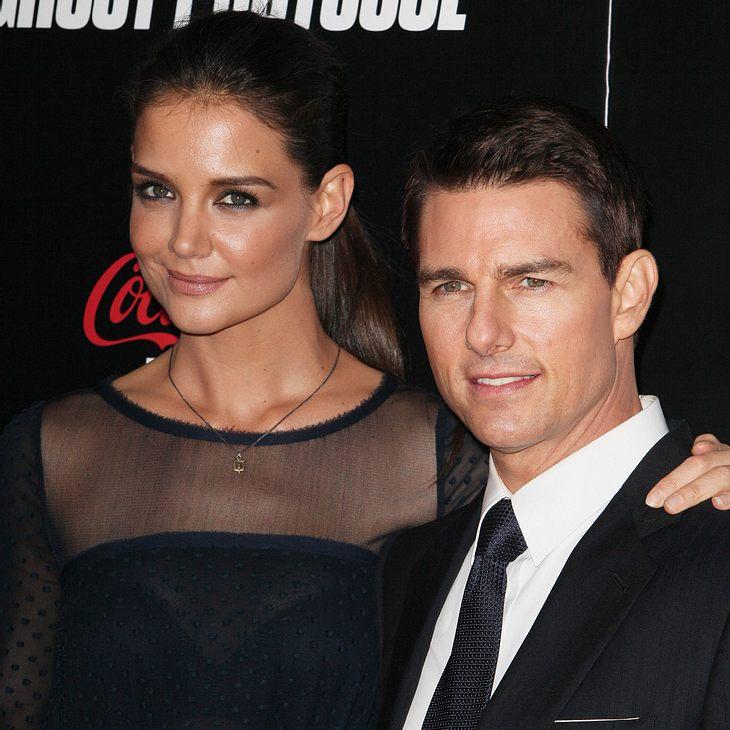 Tom Cruise und Katie Holmes haben sich geeinigt
