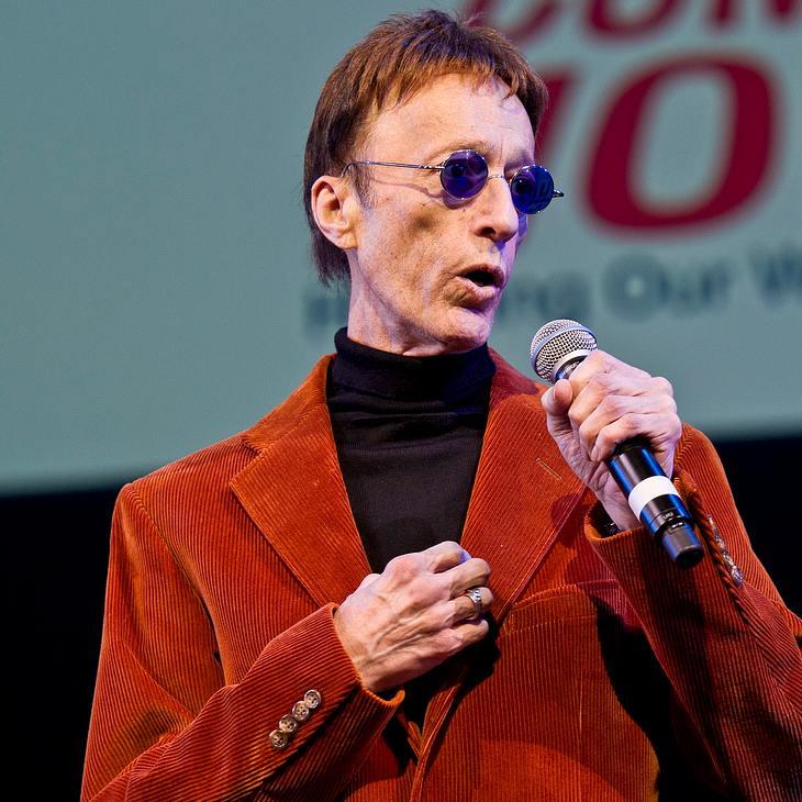 Robin Gibb: Standing Ovations bei Rückehr auf die Bühne
