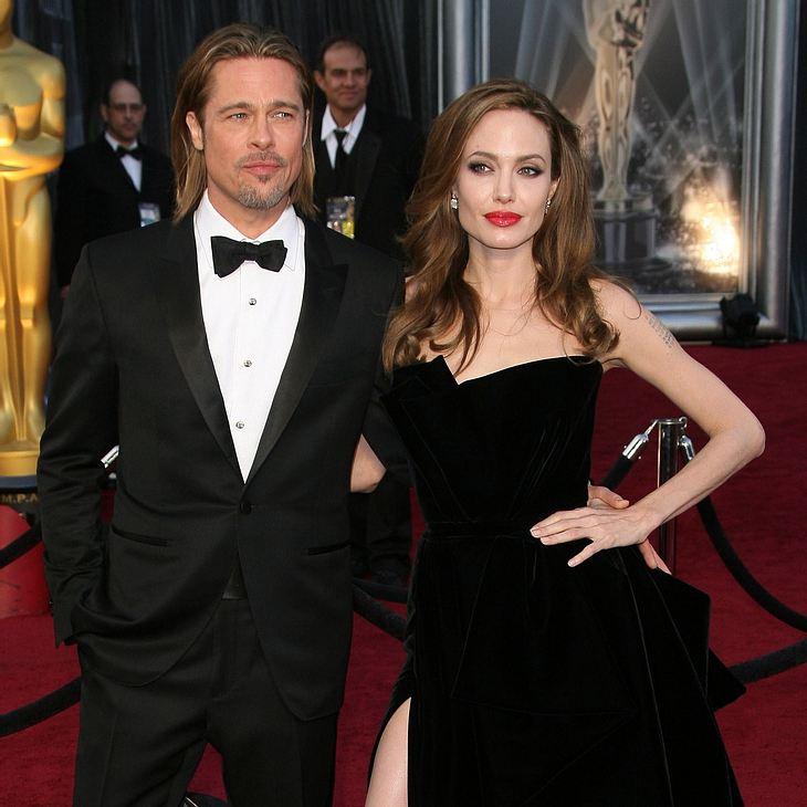 Angelina Jolie & Brat Pitt: Familienurlaub zur Feier der Verlobung
