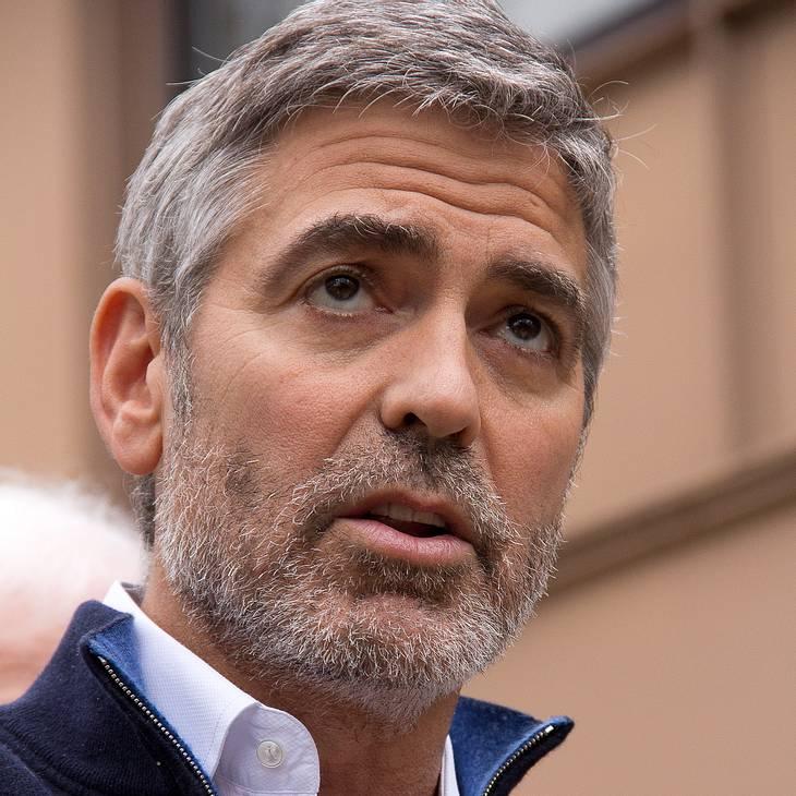 George Clooney: Froh über Freilassung