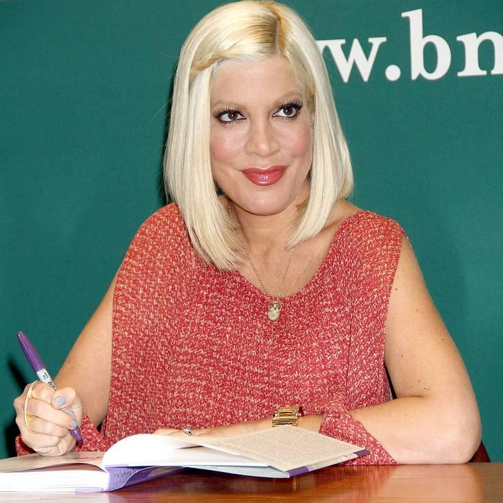 Tori Spelling aus Klinik entlassen