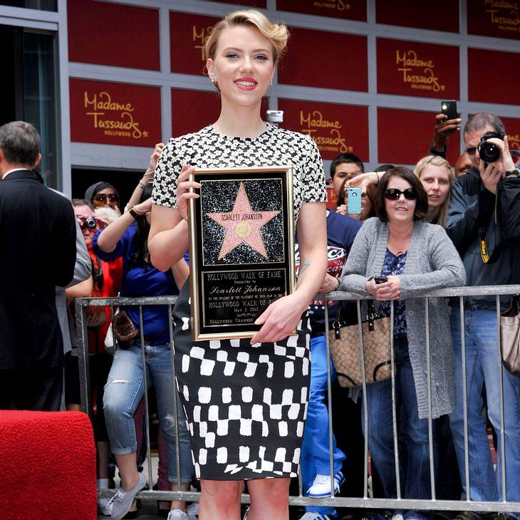 Scarlett Johansson enthüllt Stern auf Walk of Fame