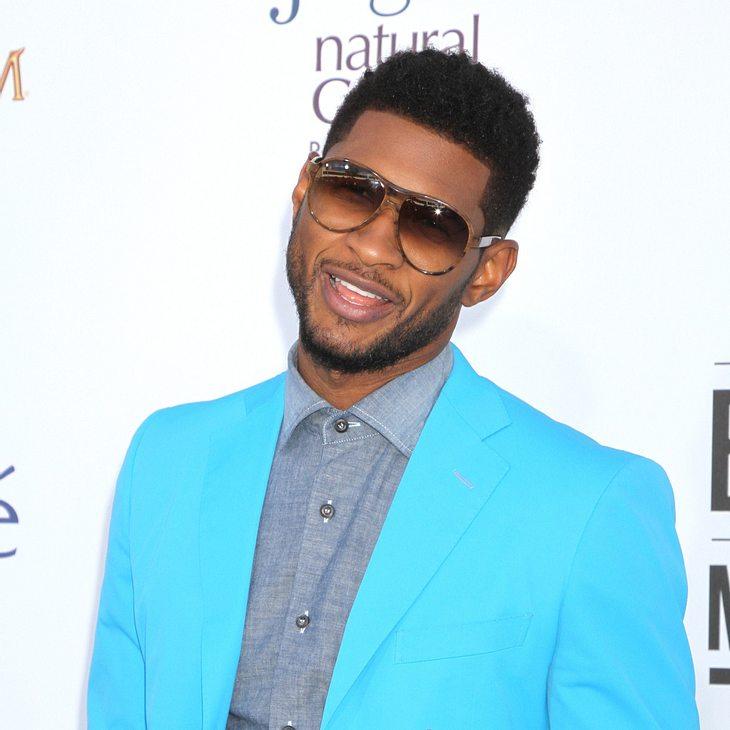 Usher: Tränen im Gerichtssaal