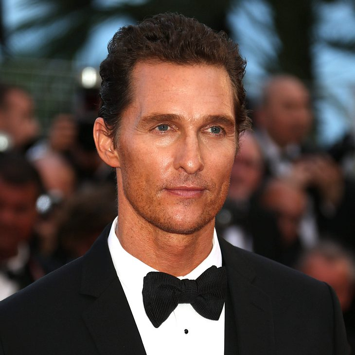 Matthew McConaughey ist sexiester Papa Hollywoods