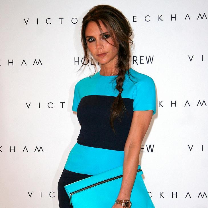 Victoria Beckham auf Fashion Week gefeiert
