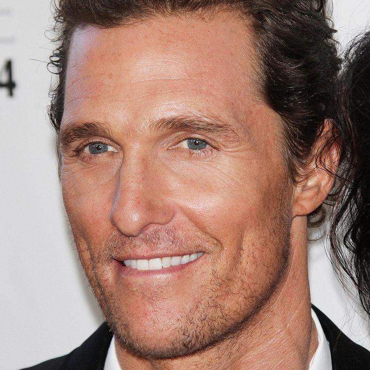 """Matthew McConaughey: """"Schulabschluss ist wichtig!"""""""