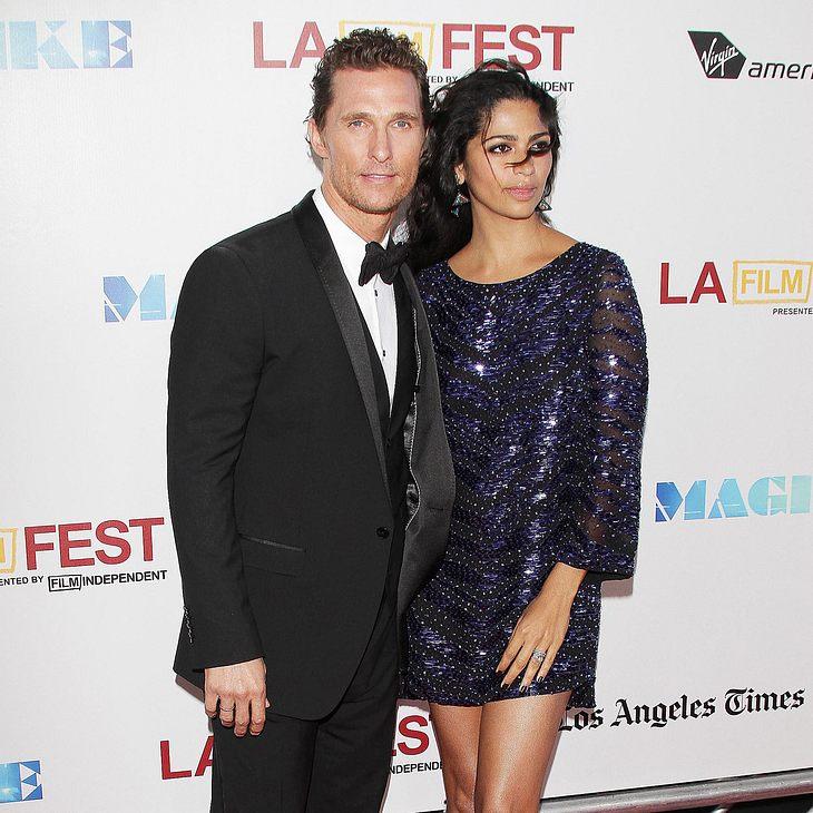 Matthew McConaughey wird zum dritten Mal Vater