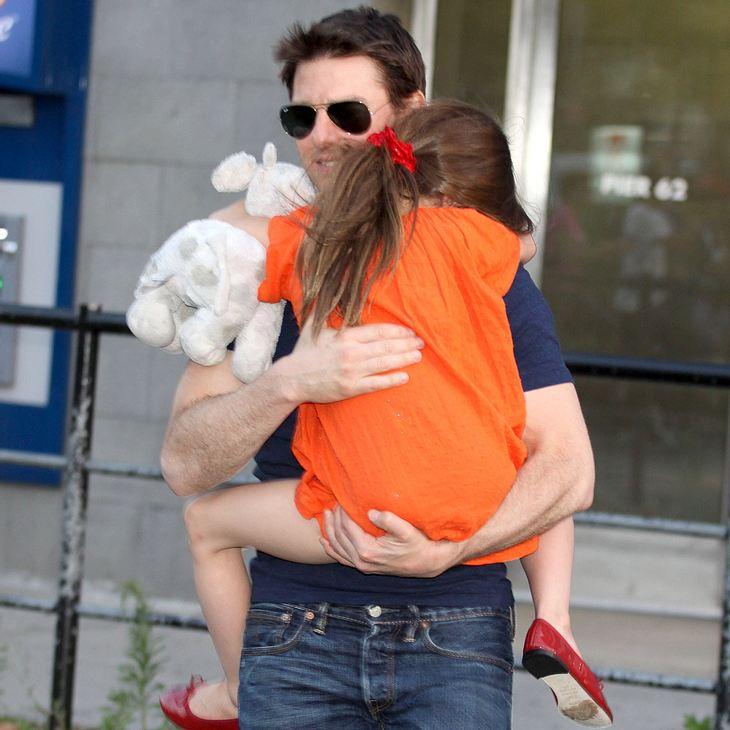 Tom Cruise: Tägliche Telefonate mit Suri