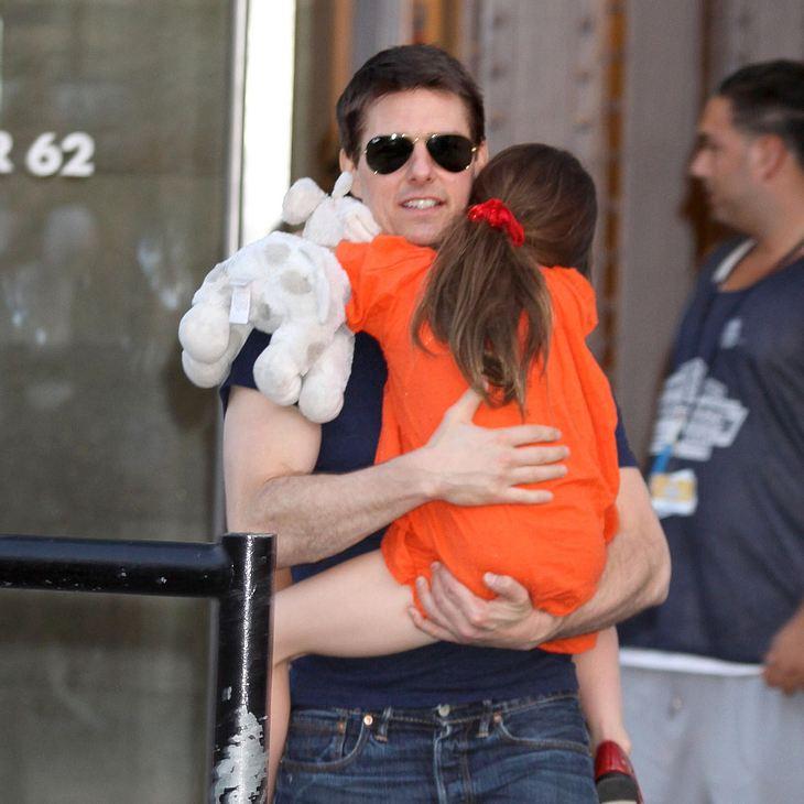 Tom Cruise will sich mit Suri in New York zurückziehen