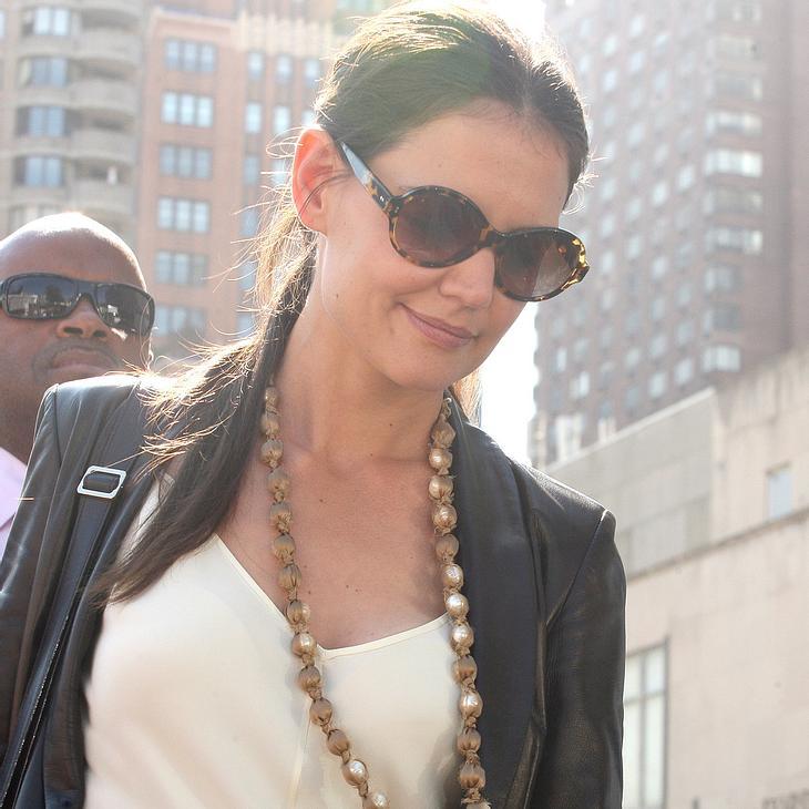 Katie Holmes: Erfolgreiches Fashion Week-Debüt