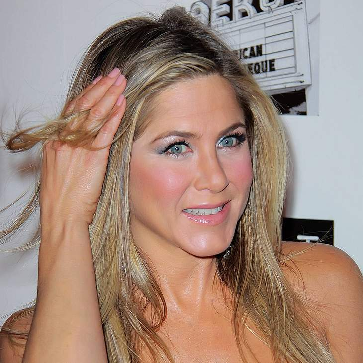 Jennifer Aniston: An der Stange ein Hit!