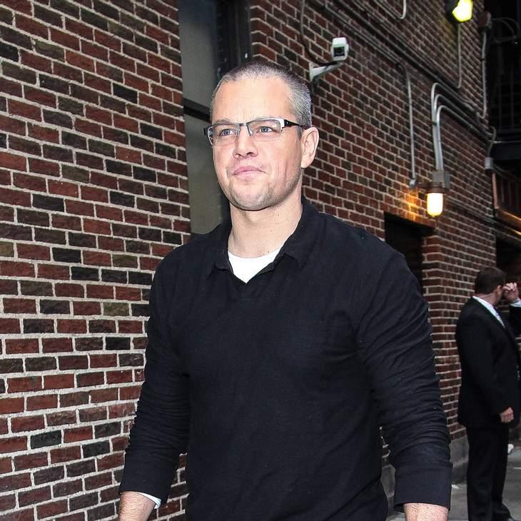 Matt Damon hat Höhenangst