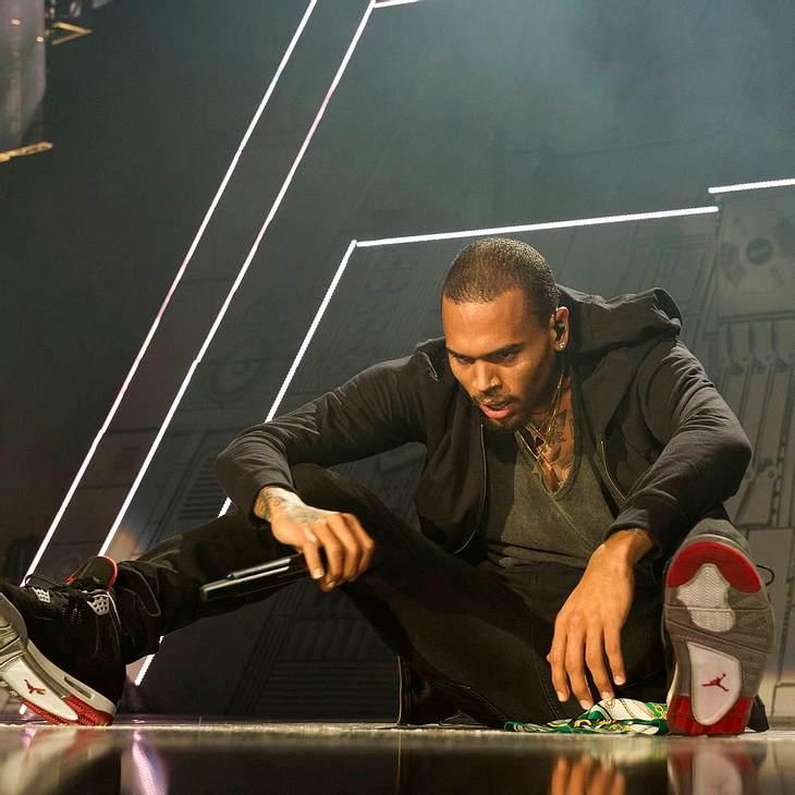 Chris Brown lässt auf Instagram Dampf ab