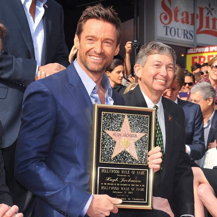 Hugh Jackman mit Hollywood-Stern geehrt