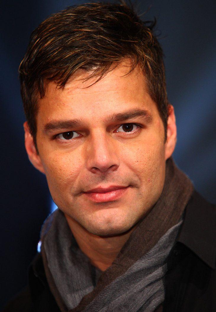Charity-Ehrung für Ricky Martin