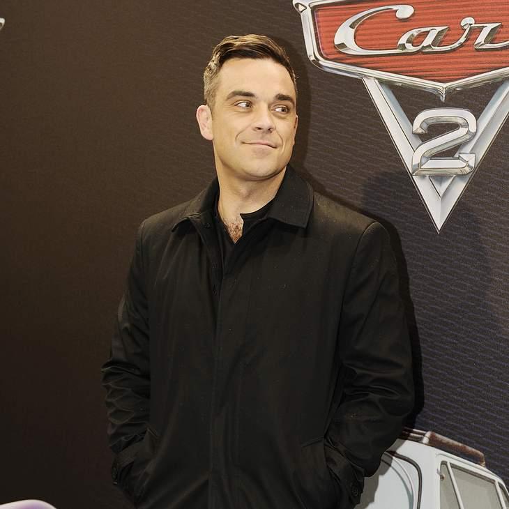 Robbie Williams: Bei Sprung von Dach verletzt