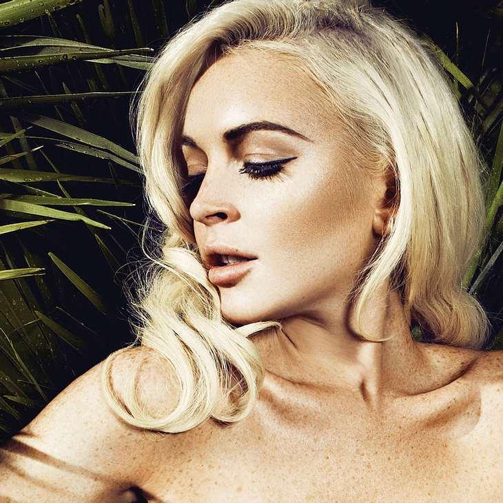 Lindsay Lohan: Neue Kampagne für deutschen Designer