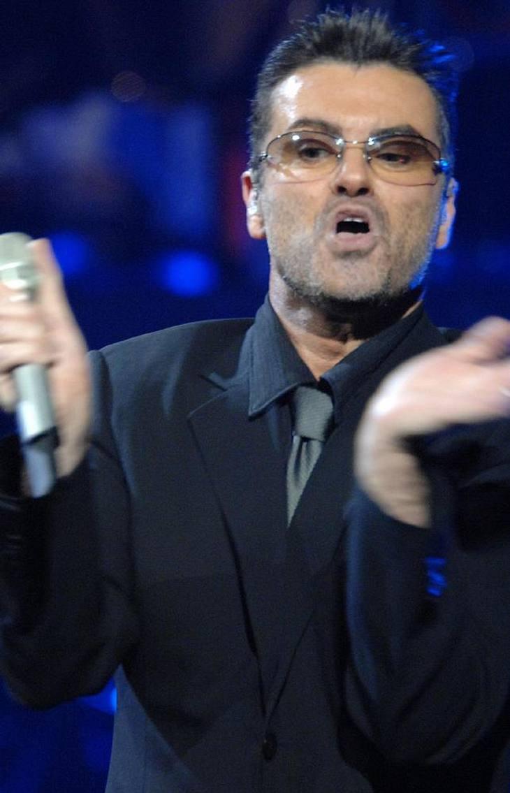 George Michael dementiert Trennungsgerüchte