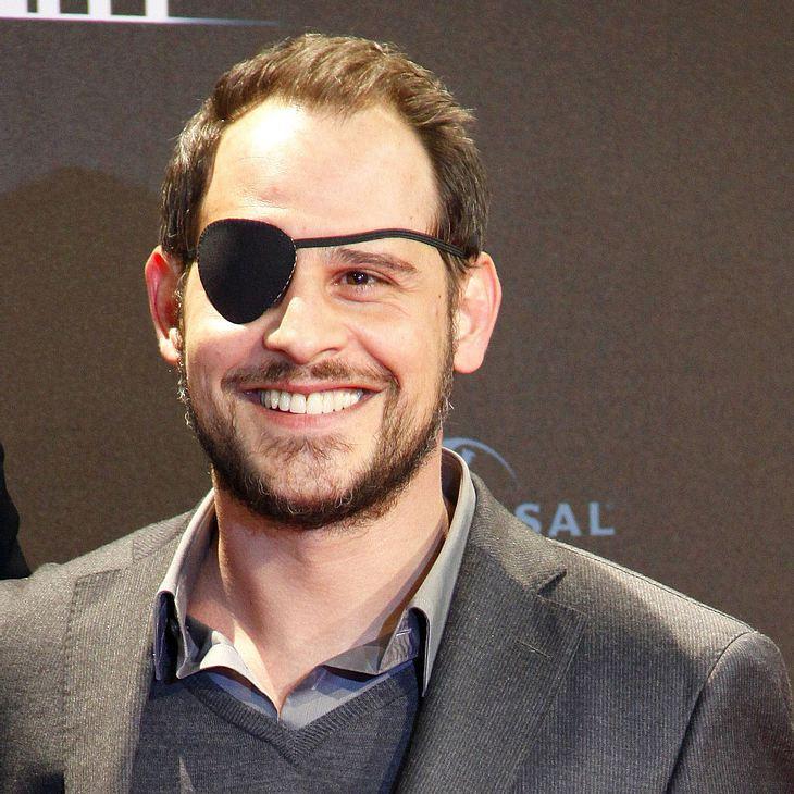 Moritz Bleibtreu: Mit Augenklappe zur Premiere